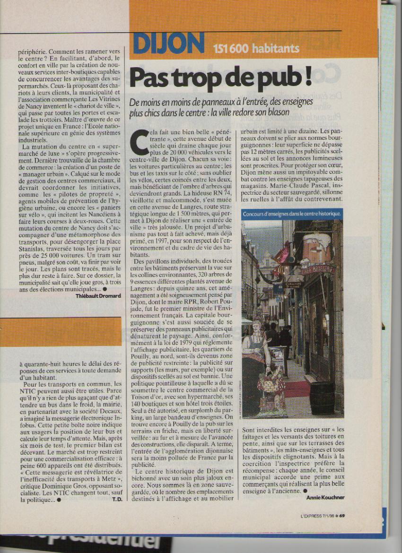 Favori Actualites ecologiques de Dijon XE39
