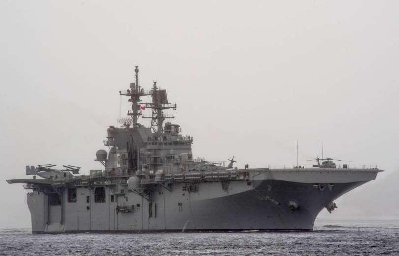 Portaaviones USS América (LHA-6). Aviones, submarinos y barcos de guerras mas caros del mundo. Cuanto cuesta un portaviones. Cual es el costo de un avión de guerra. Cuanto vale un submarino nuclear.