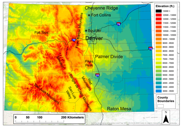 Wasatch Weather Weenies Lightning And Topography