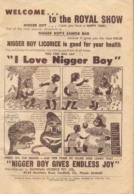 Nigger Boy Licorice