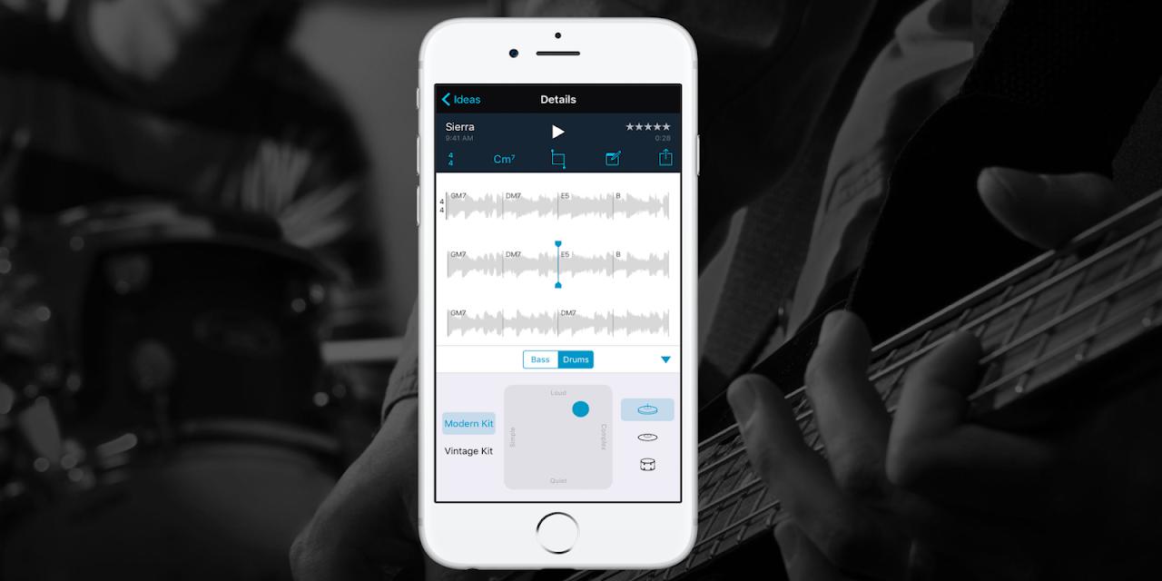 全新音樂創作方式!蘋果推出應用程式Music Memos