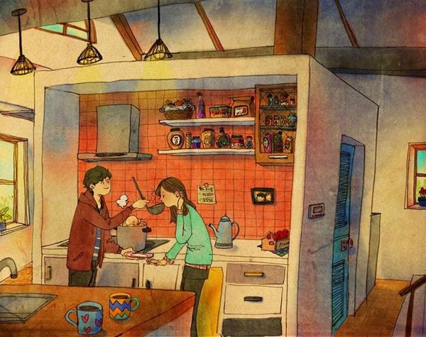 Những điều giản dị làm nên hạnh phúc vợ chồng-9