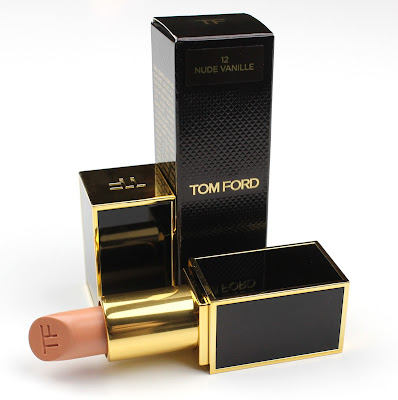 Tom Ford Lip Colour lipstick in 12 Nude Vanille review