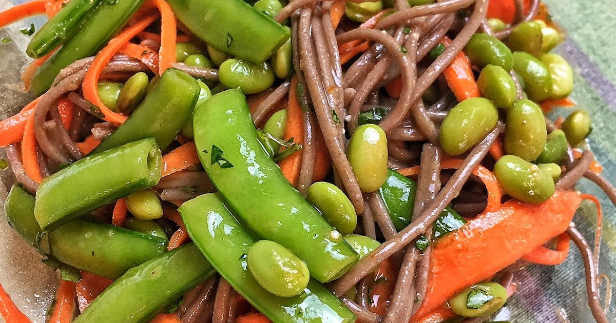 Recipe Thursday: Sugar Snap Pea and Carrot Soba Noodles ...