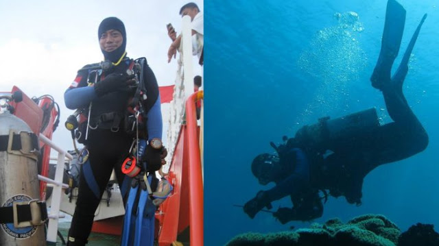 Suami Meninggal saat Bertugas, Istri Penyelam Evakuasi Pesawat Lion Air PK-LQP: Tunggu Aku di Jannah-Nya, Insya Allah