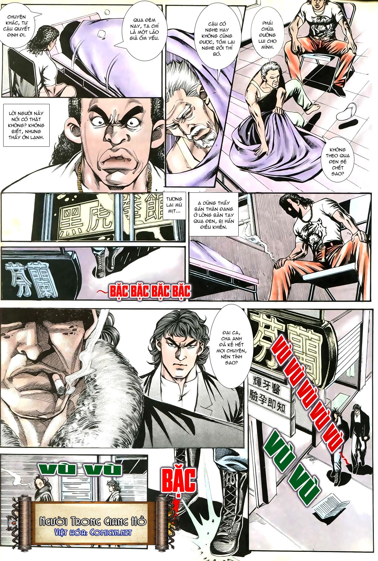 Người Trong Giang Hồ chapter 192: bá khí trúc liên bang trang 16