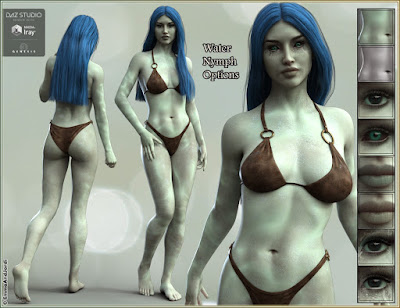 EJ Arena and Water Nymph for Genesis 3 Female