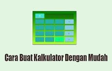 Kode Untuk Membuat Kalkulator Dengan Java Html Css Keren