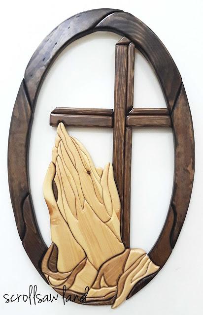 Hand,Prayer,Cross