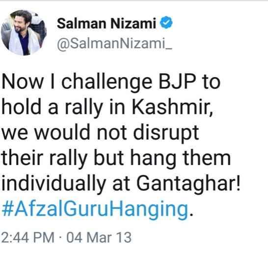 salman-nizami-afzal-guru-supporter