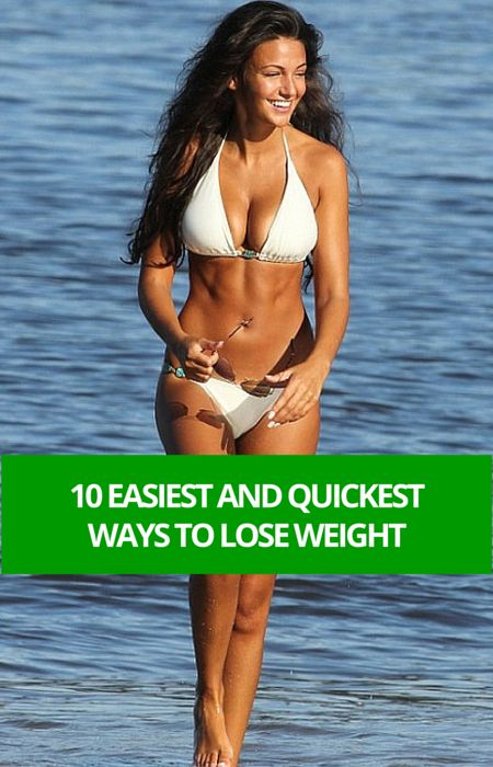 10 Easiest Ways For Weight Loss
