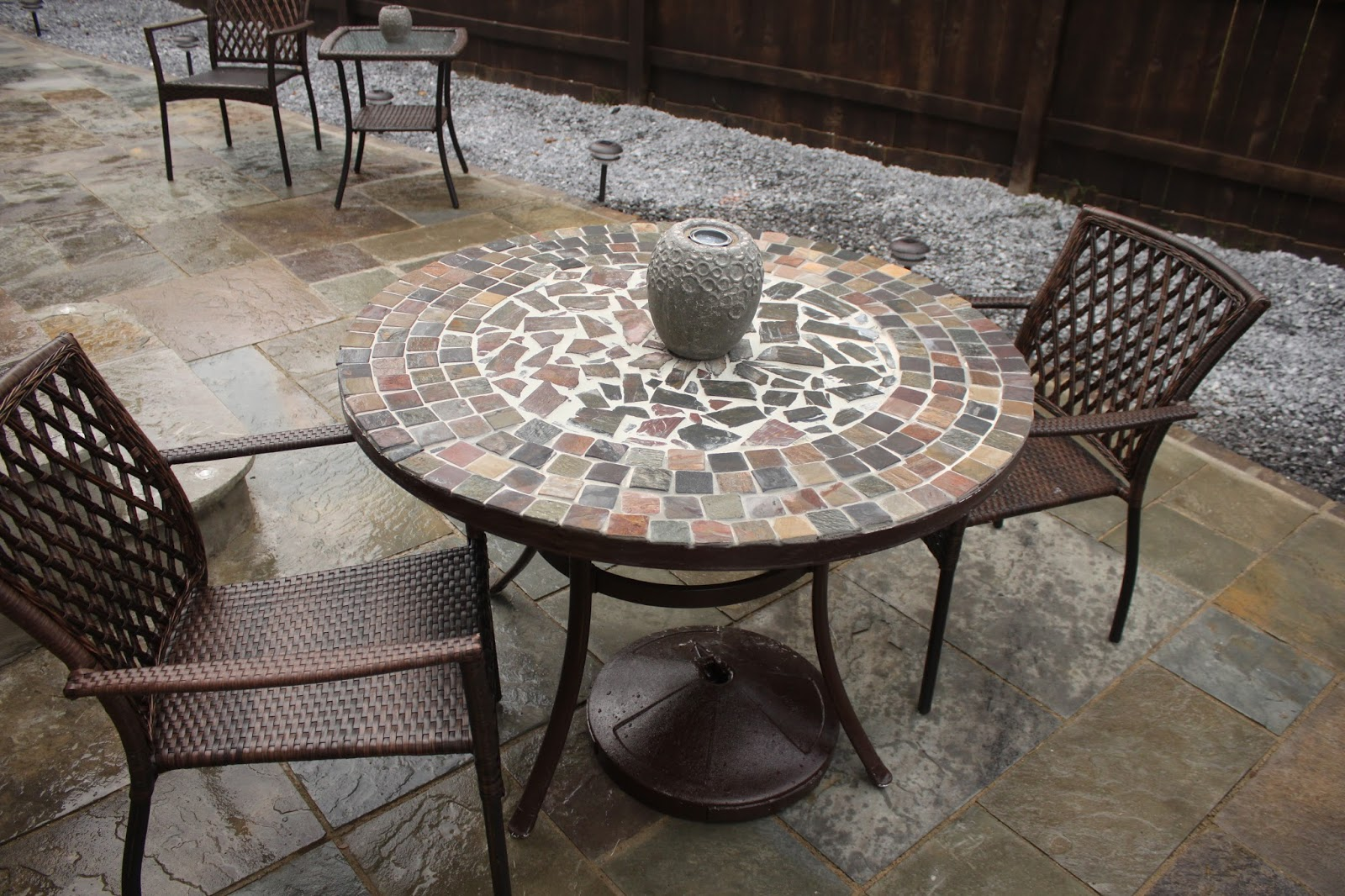 Diy Stone Table Beaute J Adore