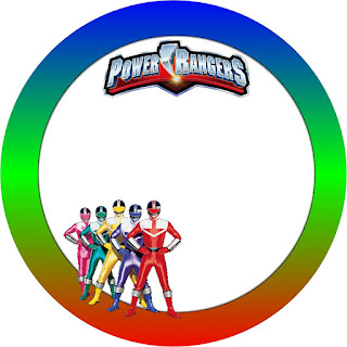 Power Rangers Free Printable Candy Buffet Labels Oh My