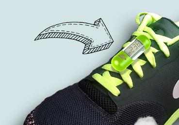 Shoe Pod On Run Watch