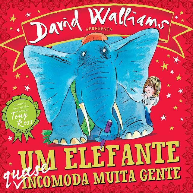 Um elefante quase incomoda muita gente - David Walliams