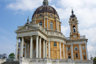 The magnificent Basilica of Superga overlooking Turin  is considered to be Juvarra's masterpiece