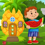 G4K Boy Escape From Fruit…