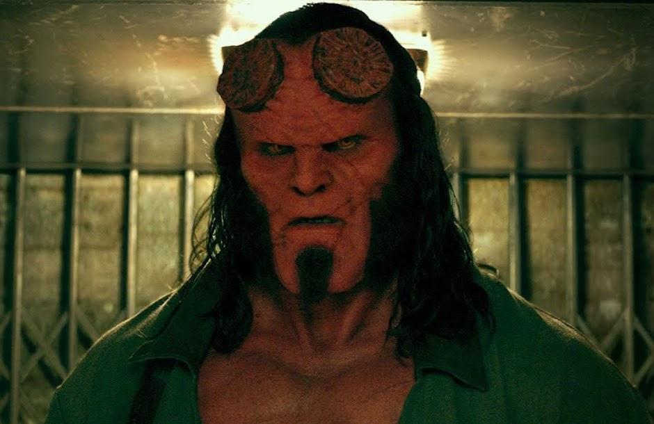 """""""Hellboy"""" ganha novos pôsteres e trailer nacional"""