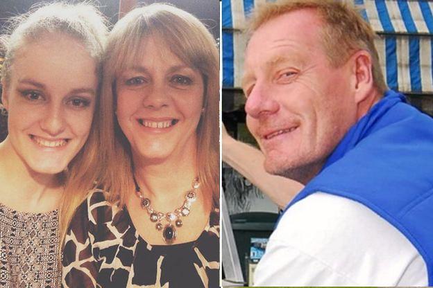 man kills wife daughter england