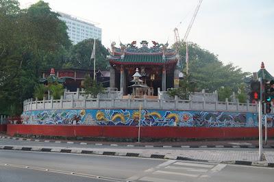 Kelenteng Tua Pek Kong Waterfront Kuching, Sarawak, Malaysia