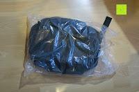 Verpackung: Lalawow Sling Bag taktisch Rucksack Daypack Fahrradrucksack Umhängetasche Schultertasche Crossbody Bag