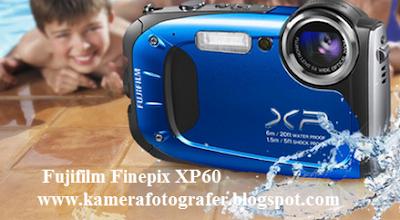 Harga Kamera Fujifilm Finepix XP60 Tahun 2015