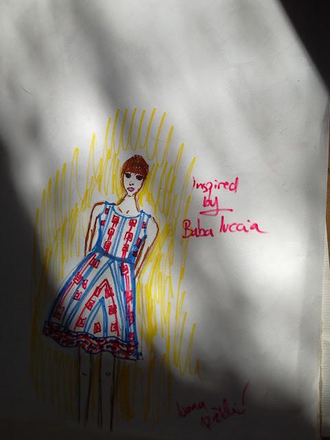 modna ilustracija
