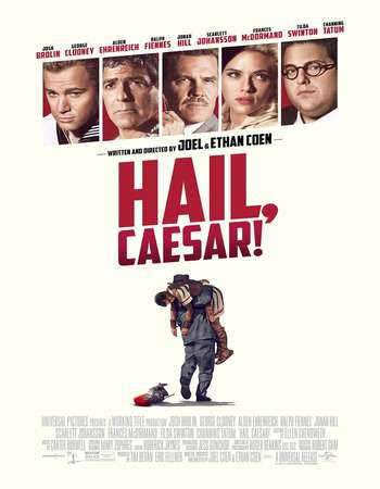 Poster Of Hail, Caesar! 2016 In Hindi Bluray 720P Free Download
