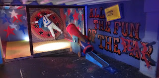 Crazy Golf at Junkyard Golf in London
