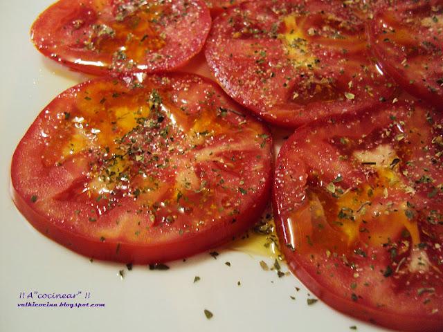 tomate aliñao