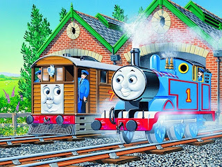 Mewarnai Kereta Thomas And Friends