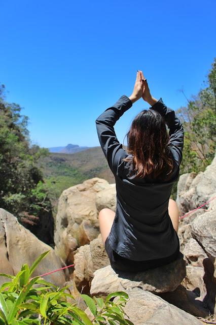 Pedras na Cachoeira das Capivaras.