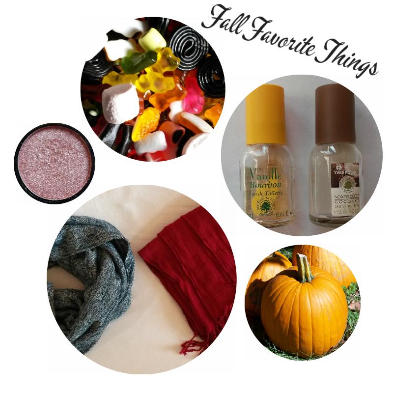TAG Fall Favorite Things (Ce que je préfère en automne)