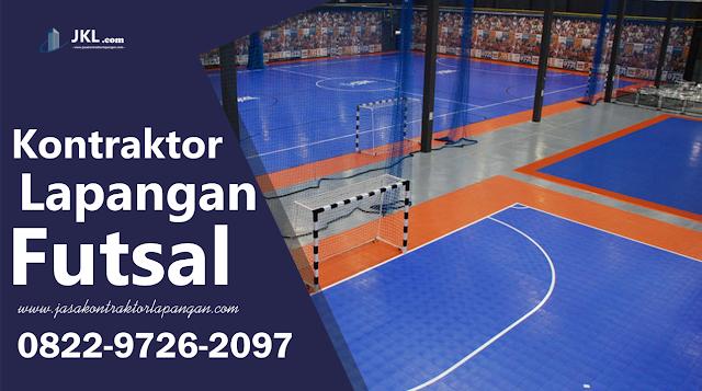 Jasa Pembuatan Lapangan Futsal Vinyl
