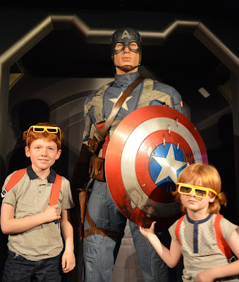 Madame Tussauds London including Star Wars,  A Review  - Marvel Captain America