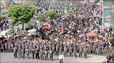 Youm e Ali Procession in Karachi
