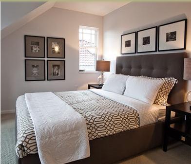 Decorar Habitaciones: Decoración dormitorios pintura