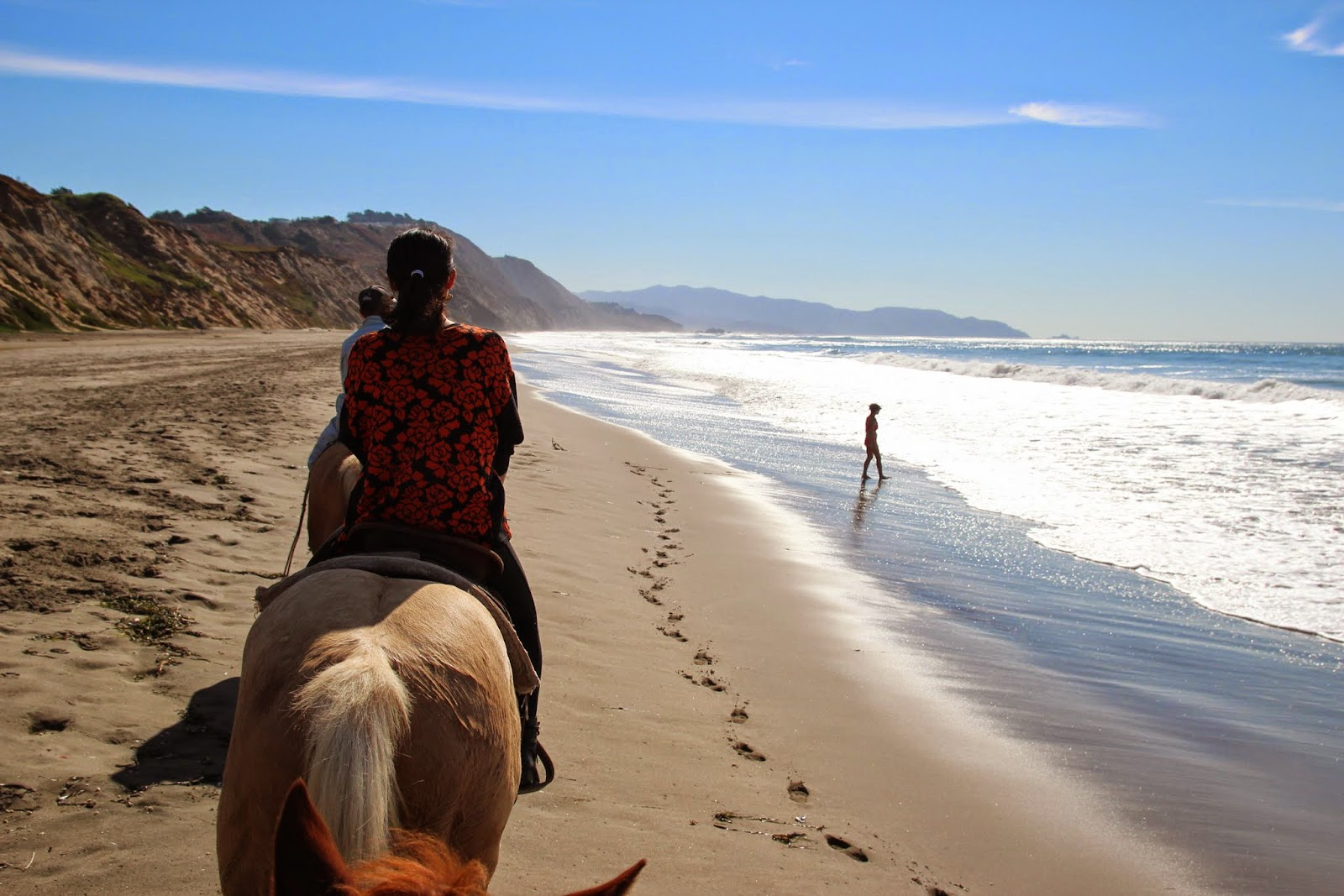 I Had To Take A Picture Of My Wife And Landscape On Horse So Could Not Own But Our Wrangler Took Us