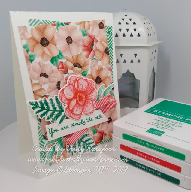 Stampin Up Project share Nigezza creates & InkyButterfly