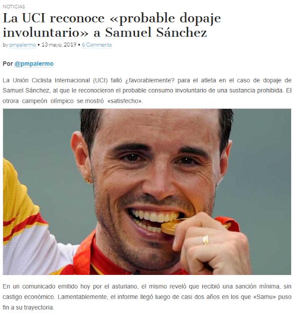 http://www.ciclismointernacional.com/la-uci-reconoce-probable-dopaje-involuntario-a-samuel-sanchez/