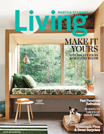 Martha Stewart Living Feature On Our Home