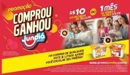 Promoção Jundiá Sorvetes Comprou Ganhou Recarga Celular 1 Mês Filmes Séries