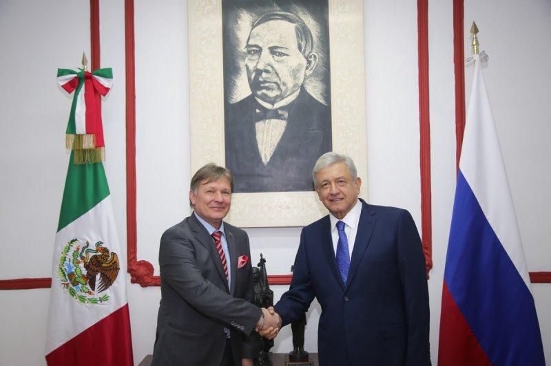 """""""México y Rusia eliminarían visa entre ambos países, una vez que asuma AMLO el poder"""", Ebrard."""
