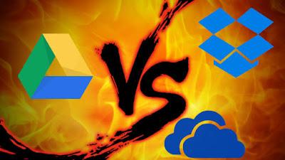 Pilih Mana: Google Drive, Dropbox, atau OneDrive