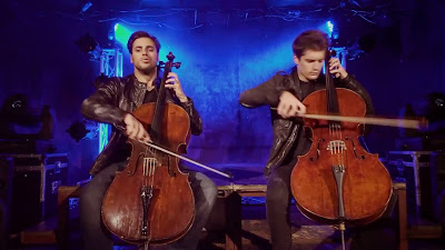 Resultado de imagem para 2CELLOS - The Trooper Overture [OFFICIAL VIDEO]