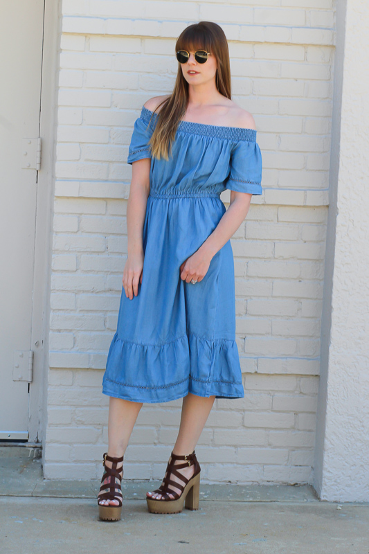 Chambray dresses for spring
