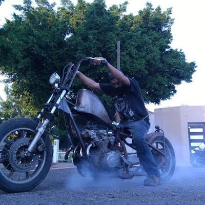"Chopper ""RatBike"" by Barba Negra Metal Works"