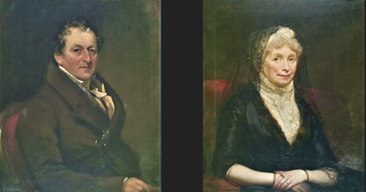 Two portraits by John Constable?