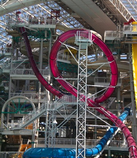 Newsplusnotes West Edmonton Mall Debuts 3 New Slides