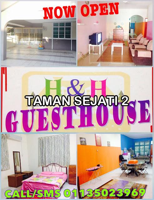 Homestay di Sitiawan Perak